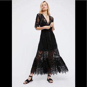 Spell Rhiannon Gown in Black